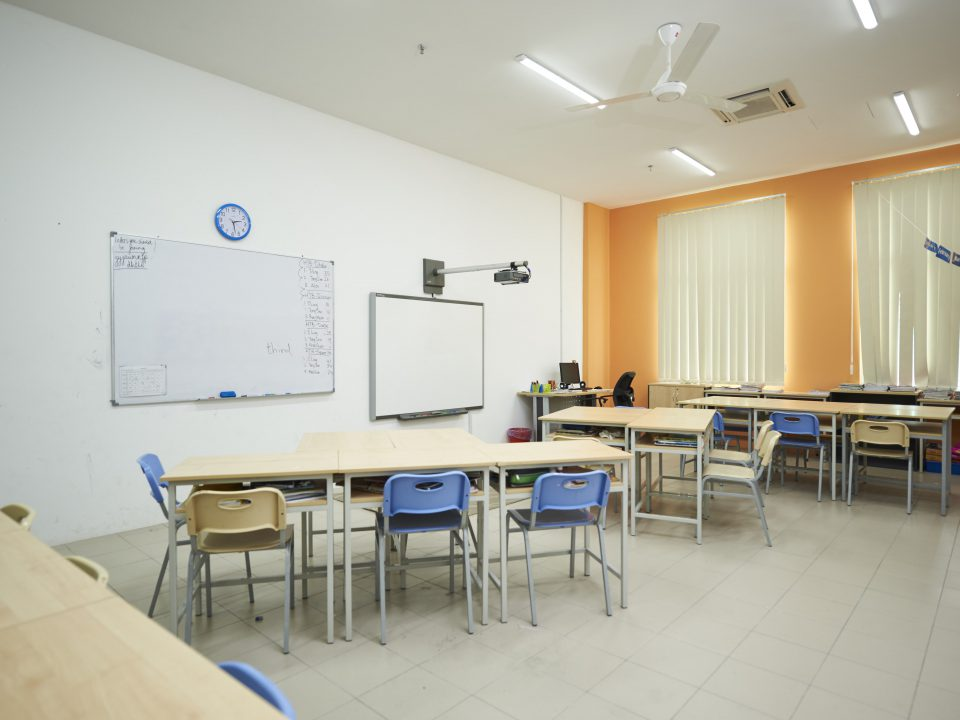 primary classroom at Straits Internation School Penang