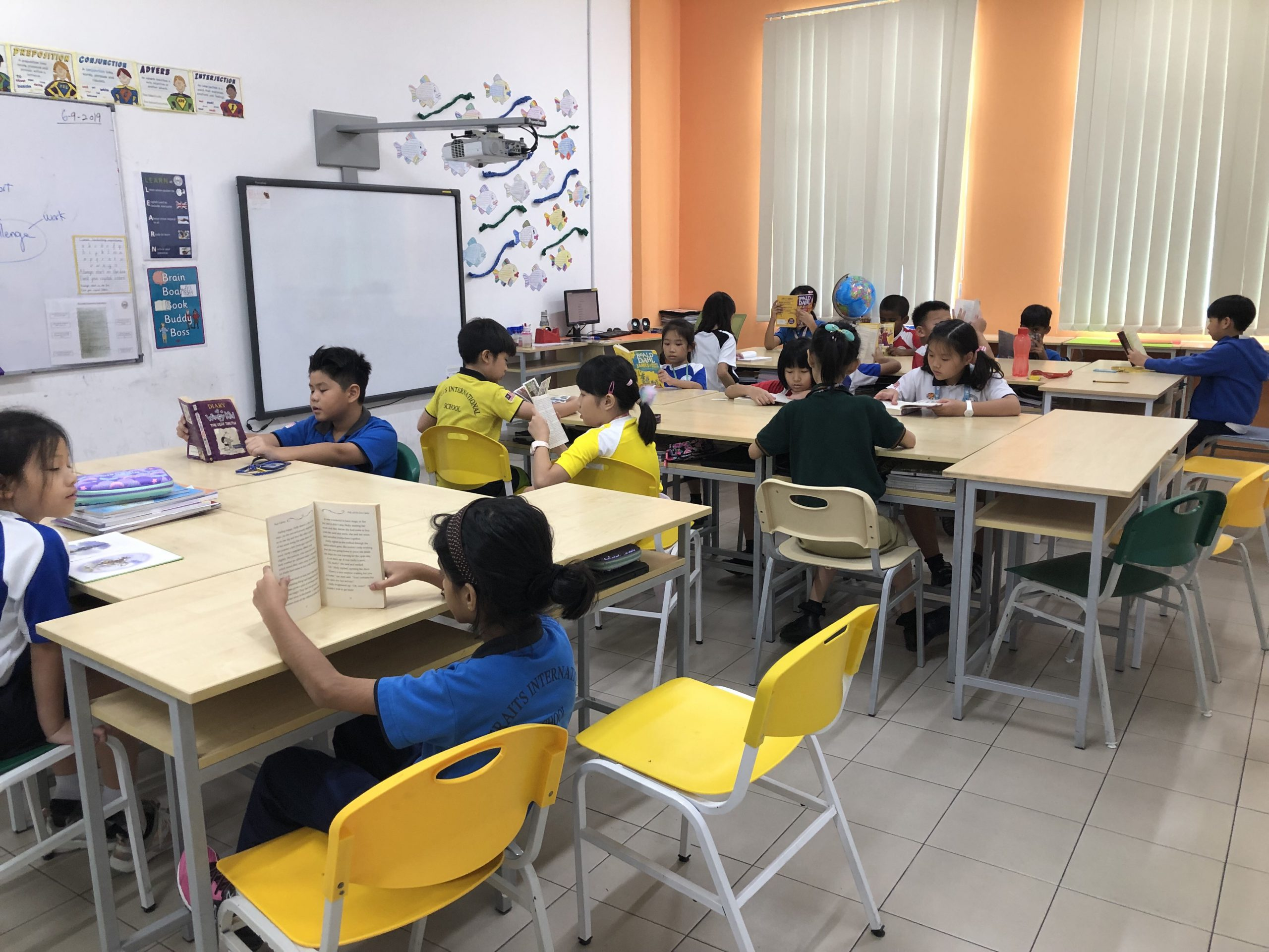 class size of Straits International School/private school