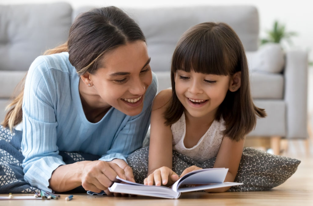 teach child to read at home